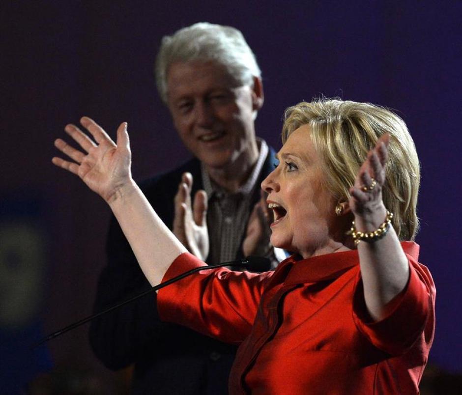 Hilary Clinton candidata demócrata ganó las primarias en Nevada. (Foto: EFE)