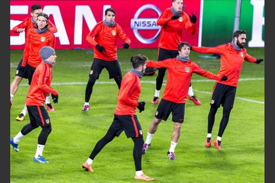 Atlético de Madrid visita Dynamo de Kiev champions foto