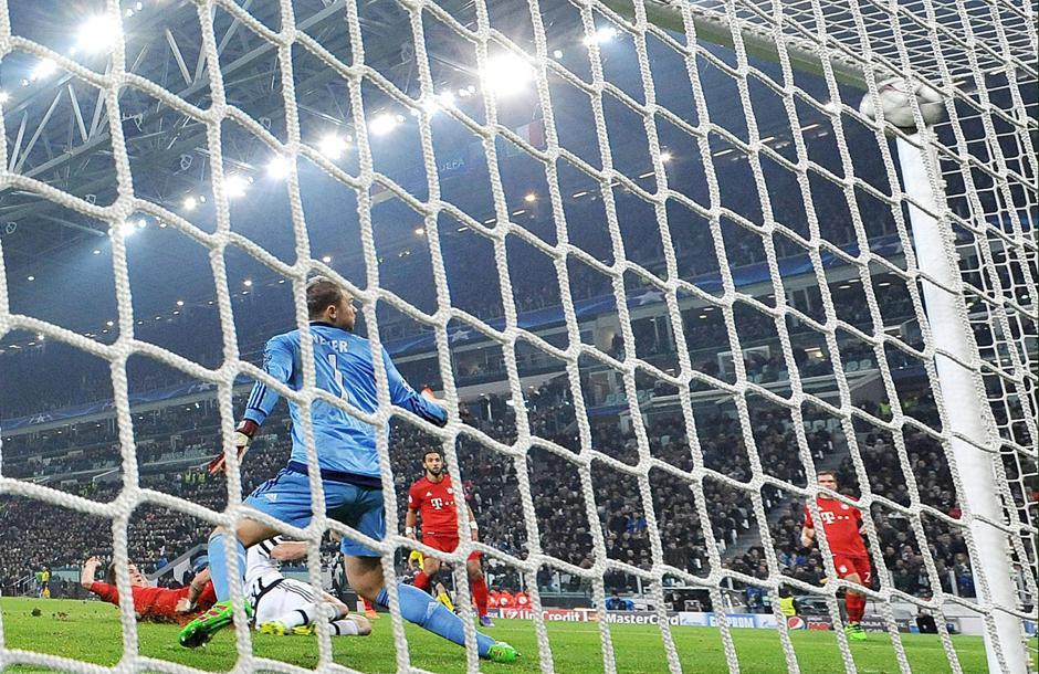 Así fue el gol del empate de la Juventus. (Foto: EFE)