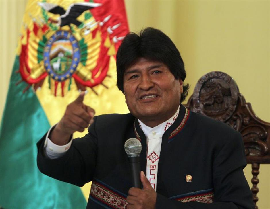 Evo Morales, actual presidente de Bolivia, sometió a referéndum su cuarta reelección y los electores lo rechazaron. (Foto: EFE)