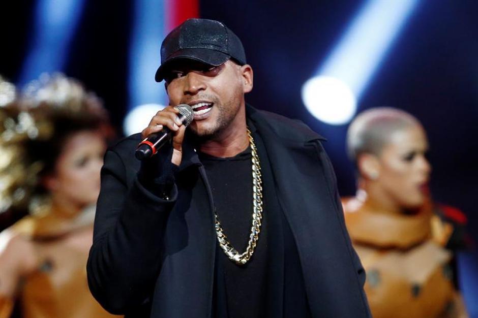 """Don Omar inició su participación con """"Dale don dale"""". (Foto: EFE)"""