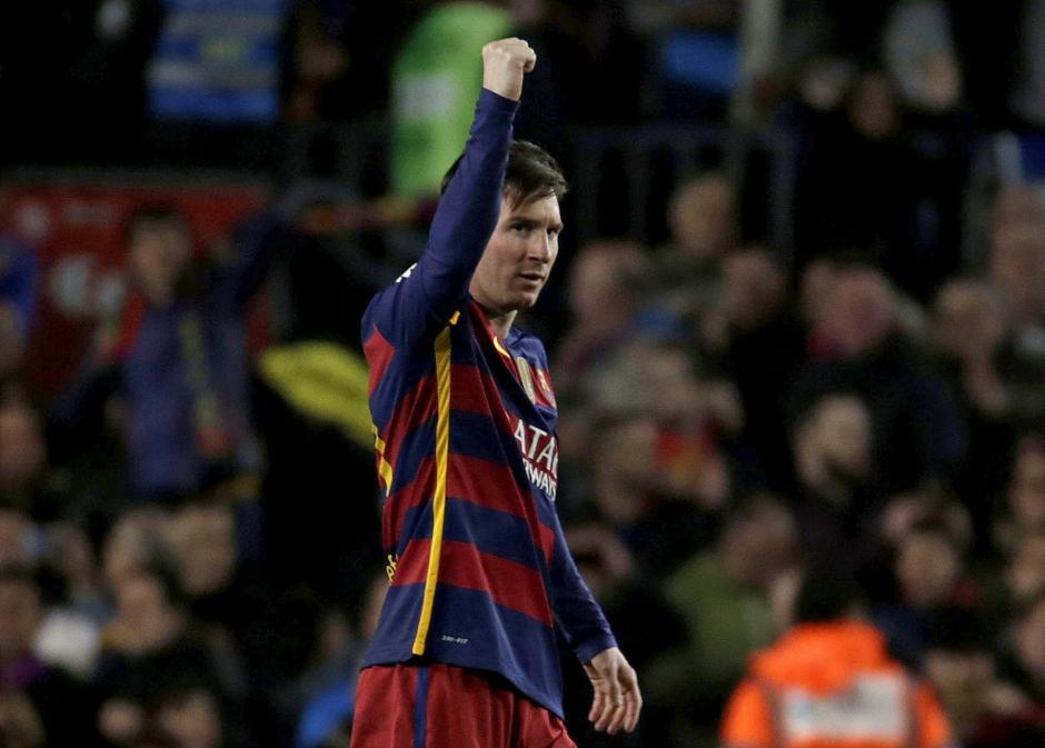 Messi anotó el primer gol de Barcelona ante Sevilla. Los azulgranas amplían su ventaja en la tabla. (Foto: EFE)