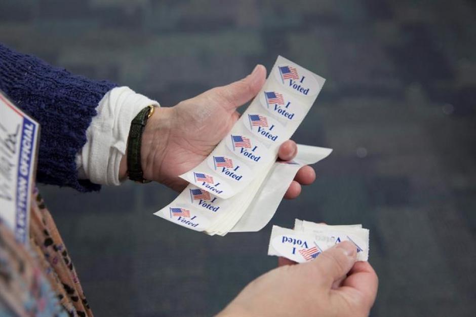 Las votaciones del supermartes son la cita electoral más importante del proceso de primarias en Estados Unidos. (Foto Efe)