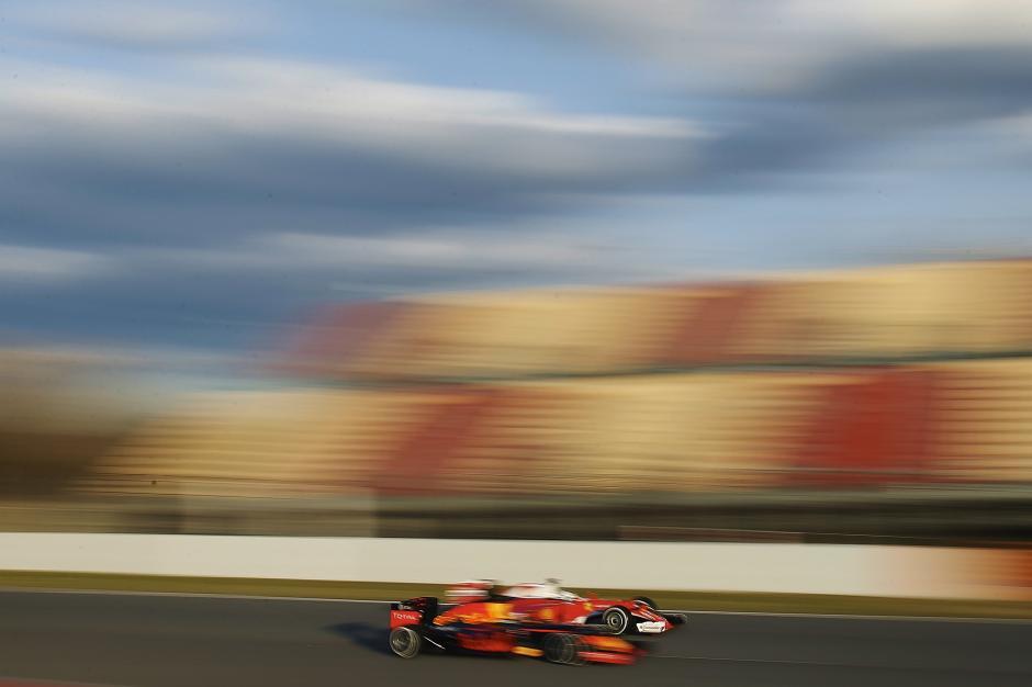 Vettel el más rápido en las pruebas de pretemporada