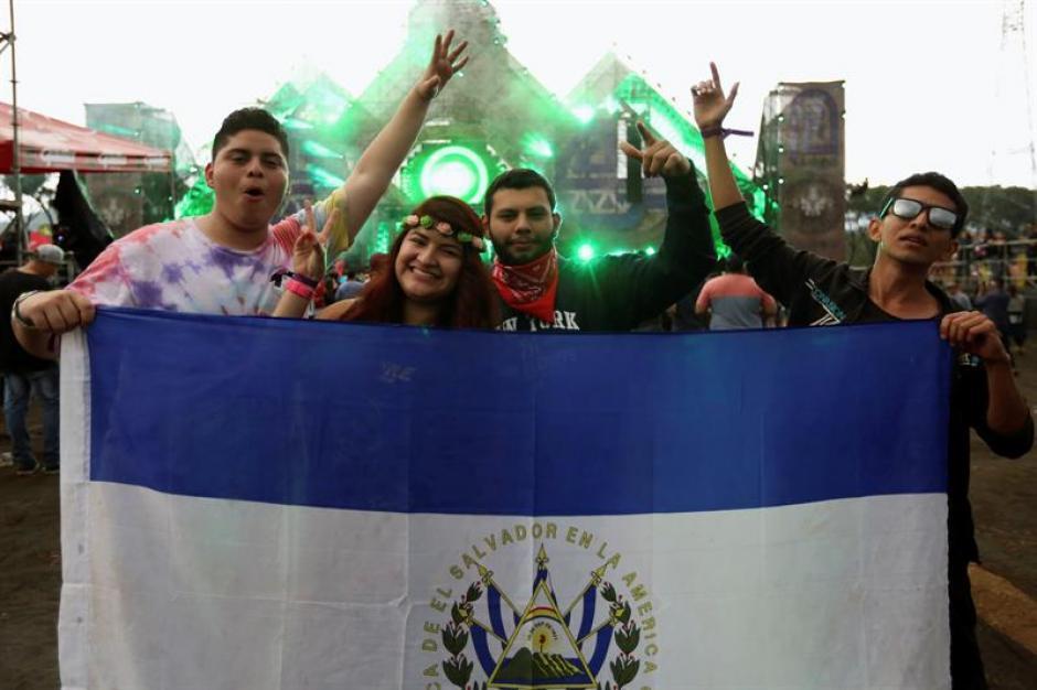 Al festival musical asistieron personas de varios países centroamericanos. (Foto: Esteban Biba/EFE)