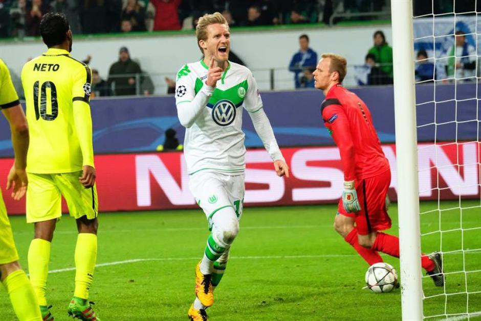 Wolfsburgo avanza a cuartos de final de champions foto