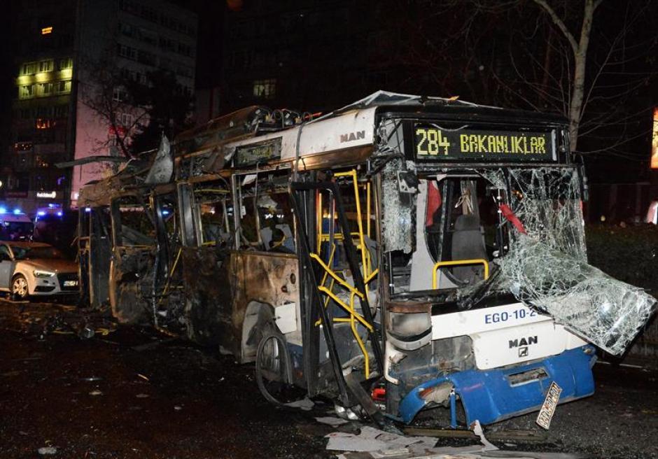 75 personas resultaron heridas a causa de la explosión. (Foto: EFE)