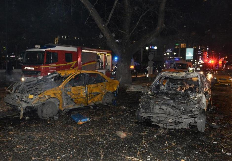 27 muertos dejó la mortal explosión. (Foto: EFE)