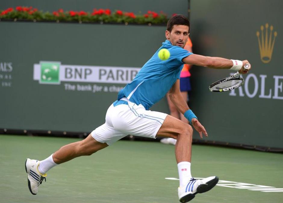 Novac Djokovic a tercera ronda en Indian Wells  2016 foto