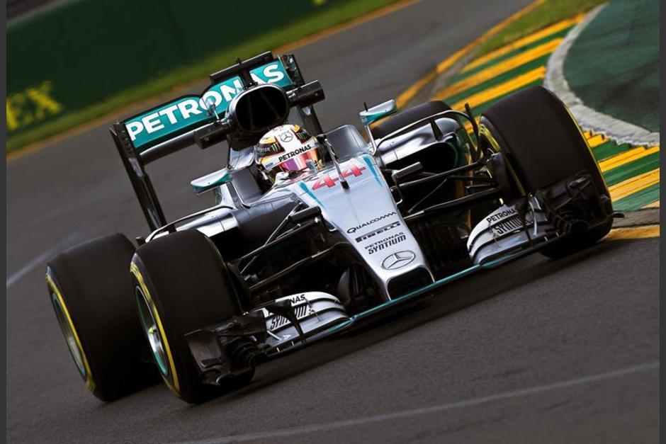 Lewis Hamilton foto melbourne