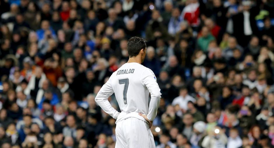 Ronaldo falló lo que hubiese sido el 2-0 en ese momento del partido. (Foto: EFE)