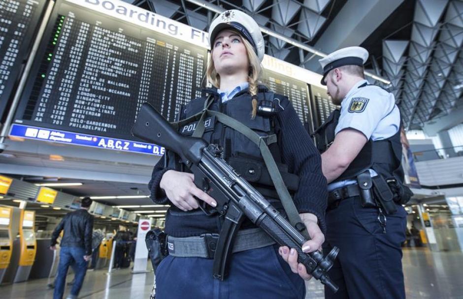 La seguridad en la ciudad fue incrementada considerablemente. (Foto: EFE)