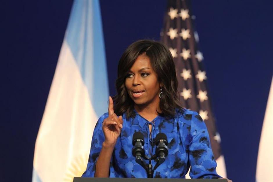 Michelle Obama es abogada graduada de Harvard (Foto: EFE)