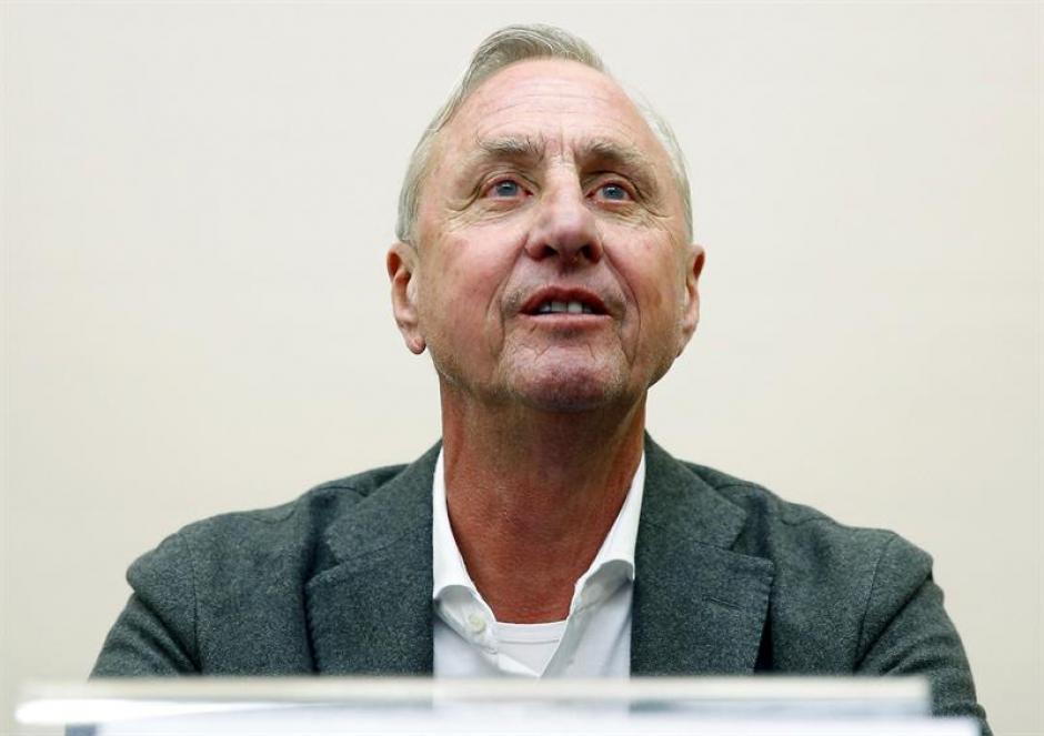 Johan Cruyff, el mítico jugador holandés, murió a los 68 años tras una batalla contra el cáncer. (Foto: EFE)