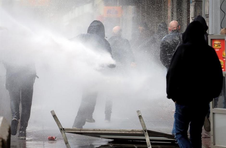 Las autoridades no reportaron capturas tras los disturbios. (Foto: EFE)
