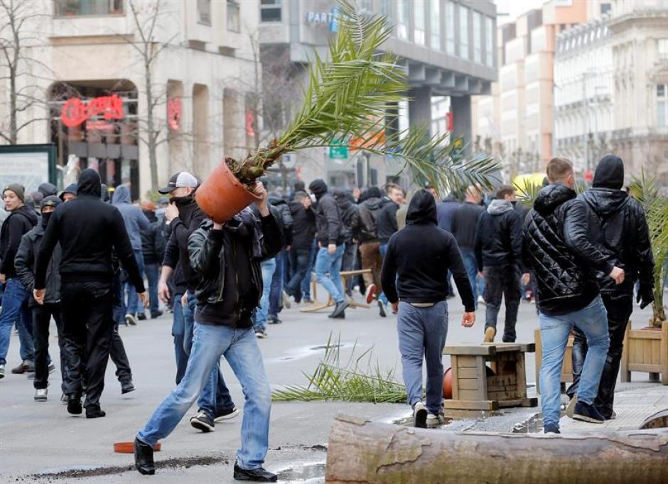 """Los hooligans consideran que han sido """"demasiado tolerantes"""" con los extranjeros. (Foto: EFE)"""