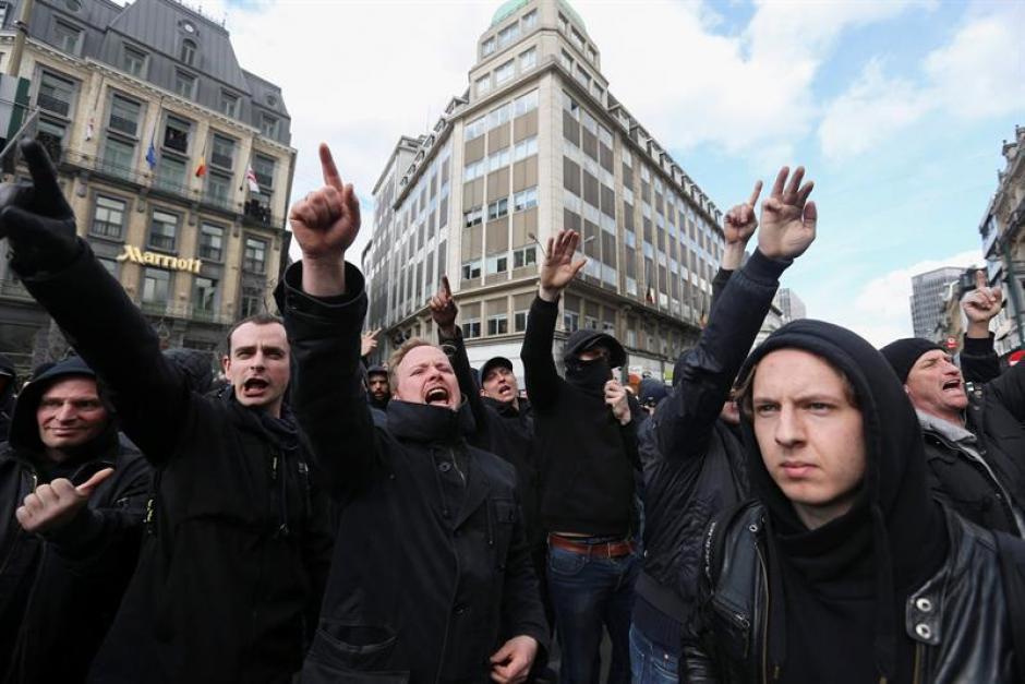 La manifestación pacífica ya se había pospuesto por motivos de seguridad. (Foto: EFE)