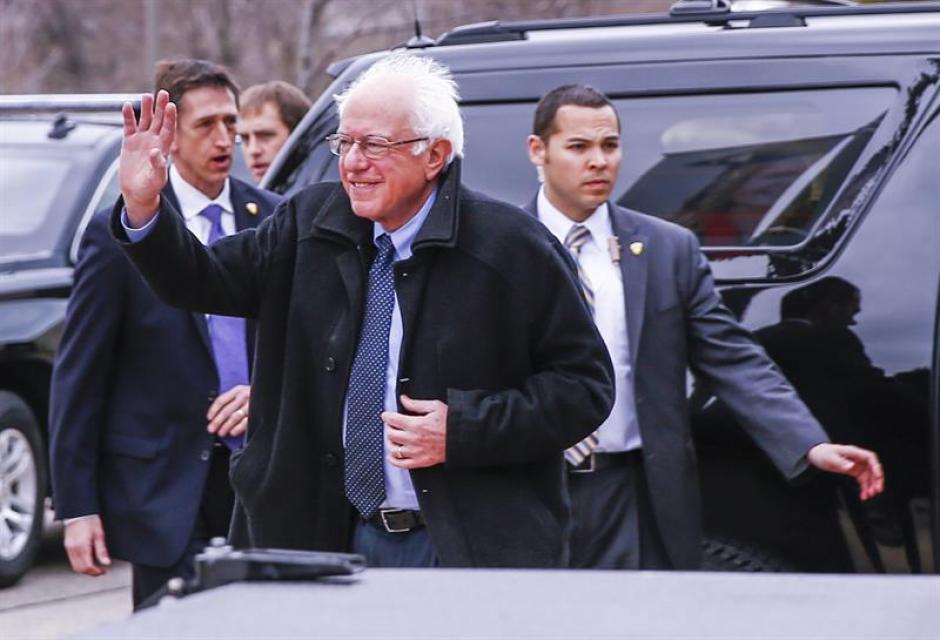 Bernie Sanders agradeció a sus electores por la victoria. (Foto: EFE)