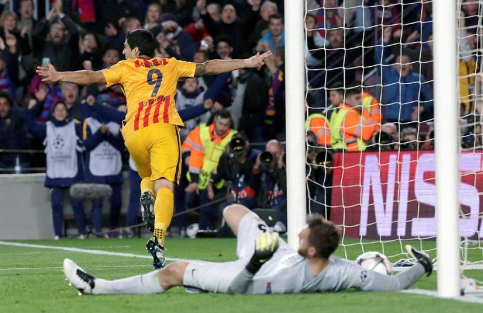 Luis Suárez sentenció el partido a los 75 minutos. (Foto: EFE)