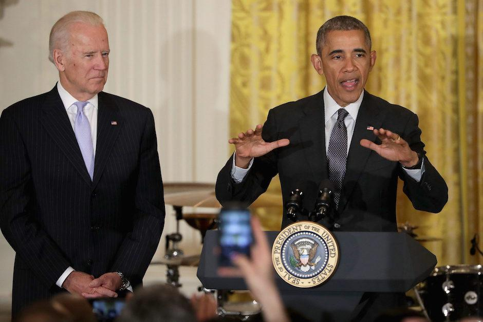 El presidente estadounidense Barack Obama habla durante la celebración del Cinco de Mayo. (Foto: EFE)