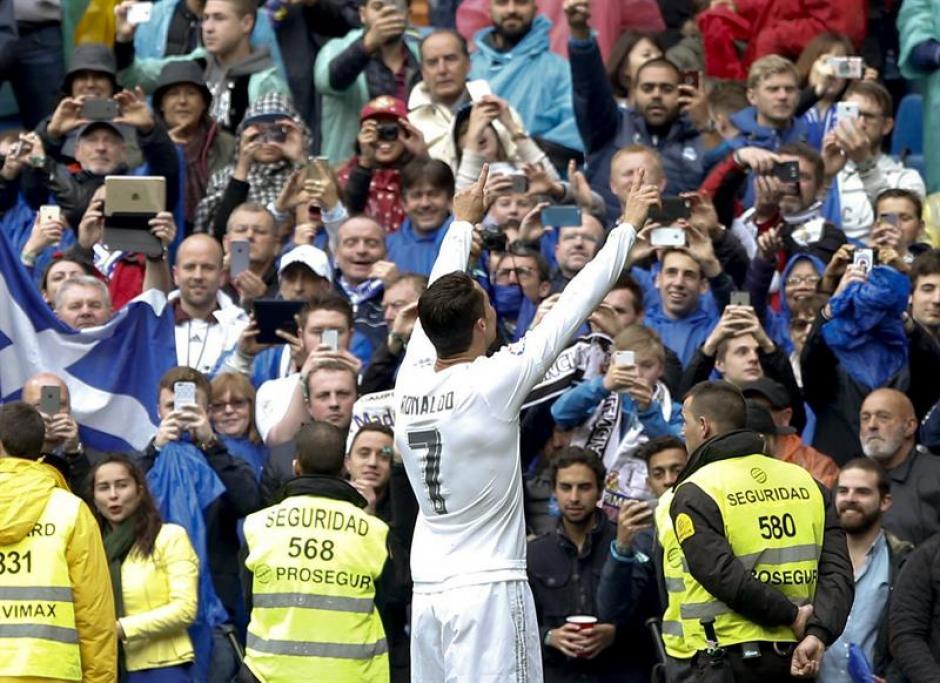 En el último partido de Liga se le vio a un Cristiano más activo. (Foto: EFE)