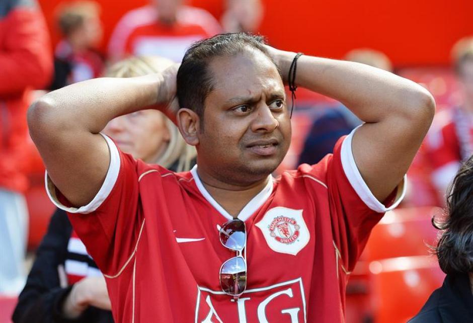 El encuentro era el último del Manchester United en esta temporada. (Foto: EFE)