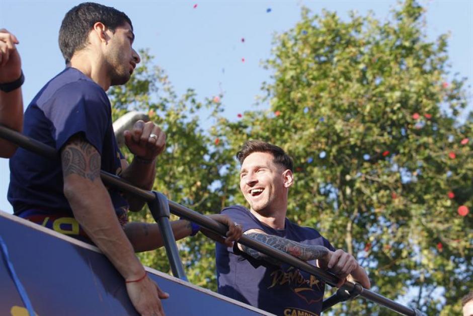 Hace unos días celebró el triunfo de Liga. (Foto: EFE)
