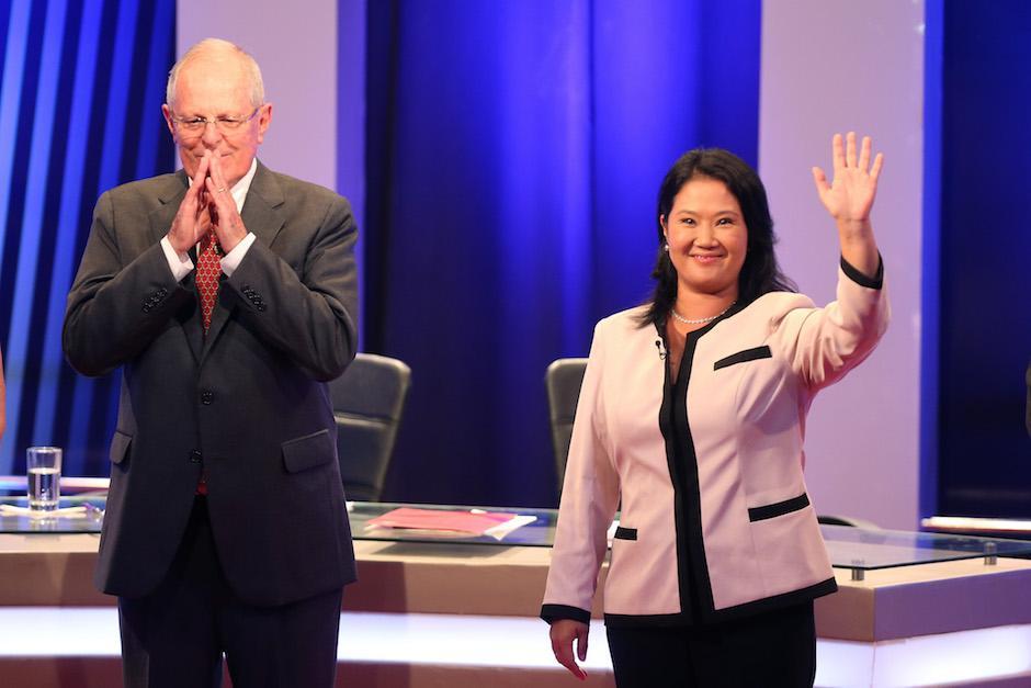 La candidata a la presidencia de Perú Keiko Fujimori se posicionó en las encuestas sobre su contrincante Pedro Pablo Kuczynski. (Foto: EFE)