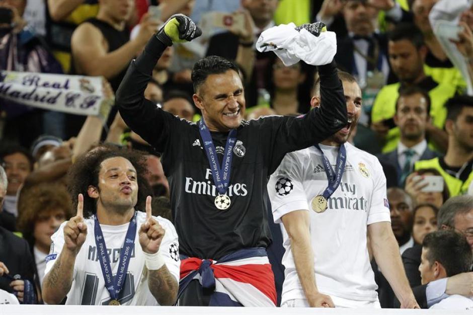 El portero costarricense fue clave para obtener el título para el Real Madrid. (Foto: EFE)