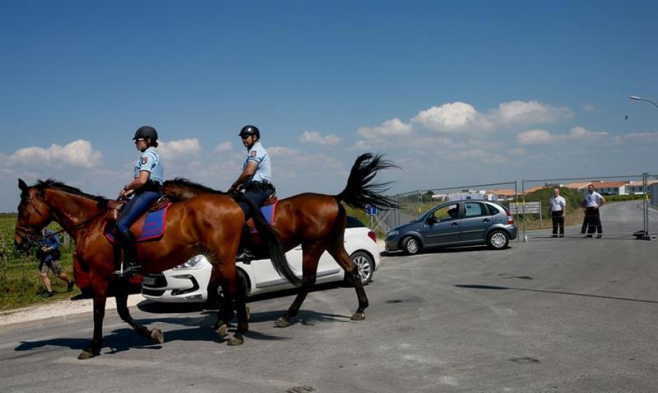 El dispositivo policial para cuidar a la Selección española en Francia está en marcha. (Foto: EFE)