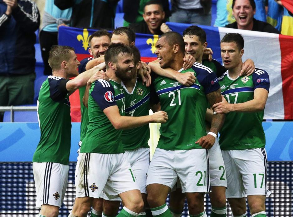 Irlanda abrió el marcador por medio de Josh Magennis. (Foto: EFE)