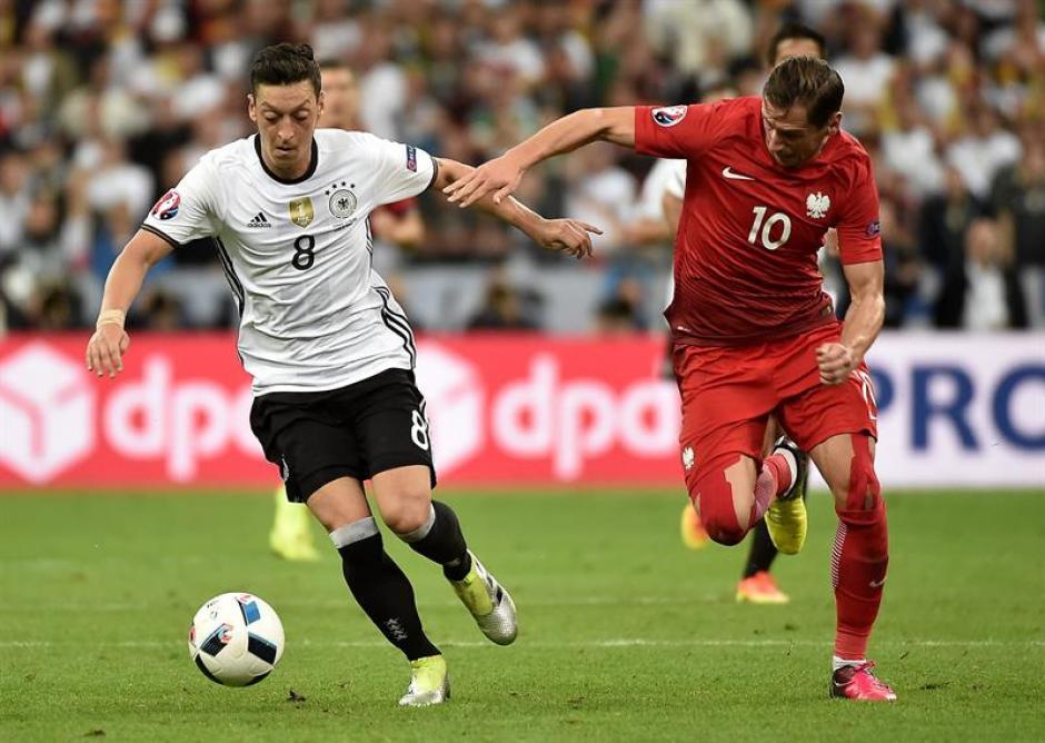Alemania sufrió y no pudo vencer a Polonia. (Foto: EFE)