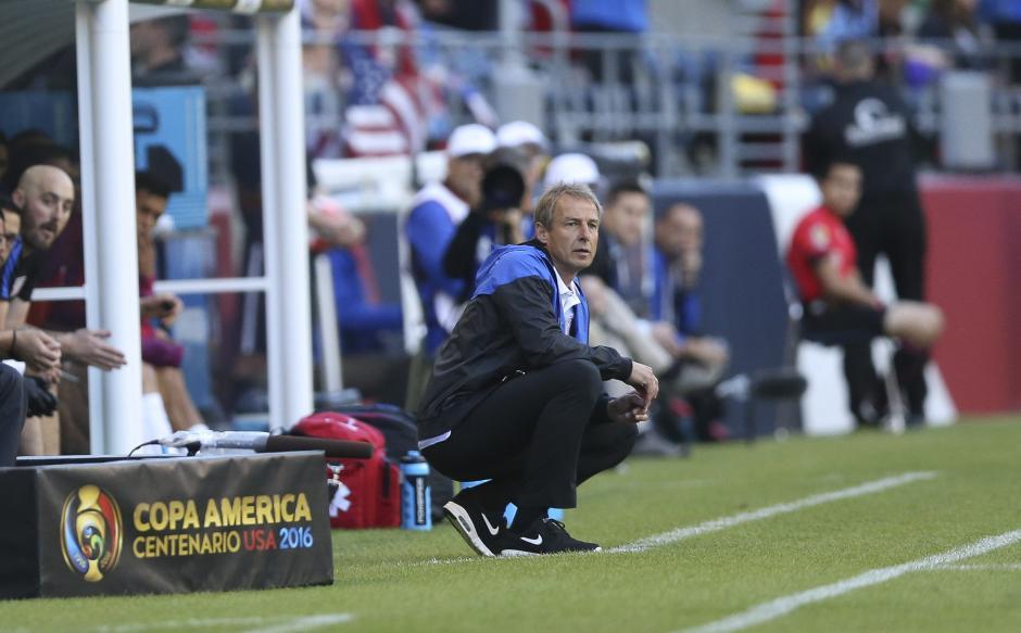 Klinsmann durante el encuentro entre Estados Unidos y Ecuador. (Foto: EFE)