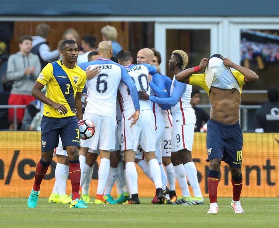 De la mano de Dempsey, Estados Unidos va a semifinales. (Foto: EFE)