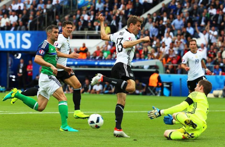 El arquero evitó una goleada alemana (EFE)