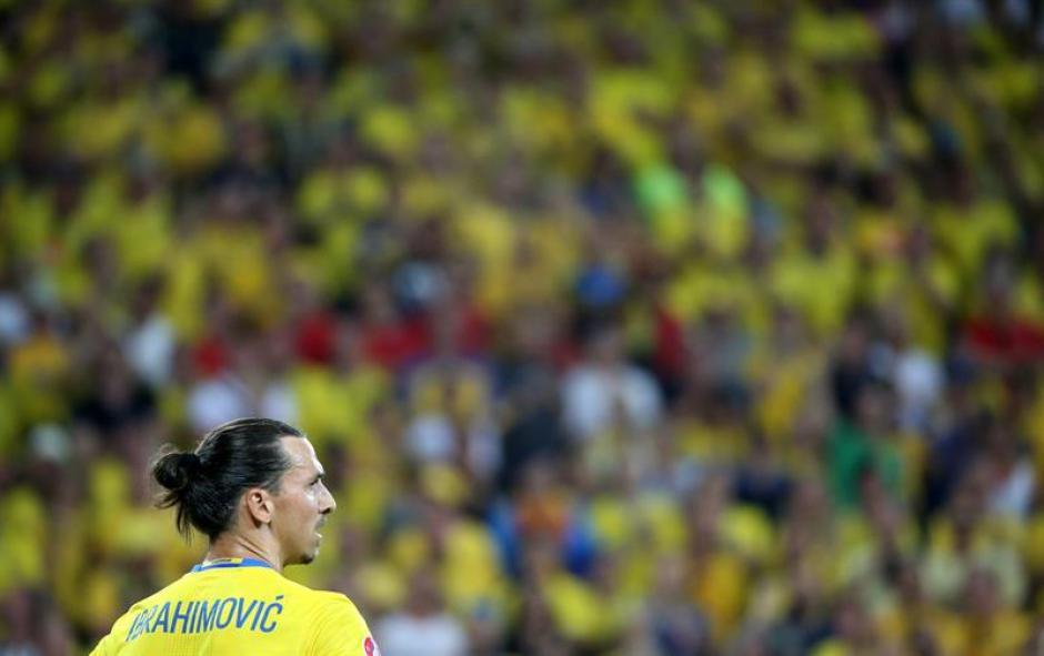 El capitán sueco se va sin marcar ningún gol (EFE)