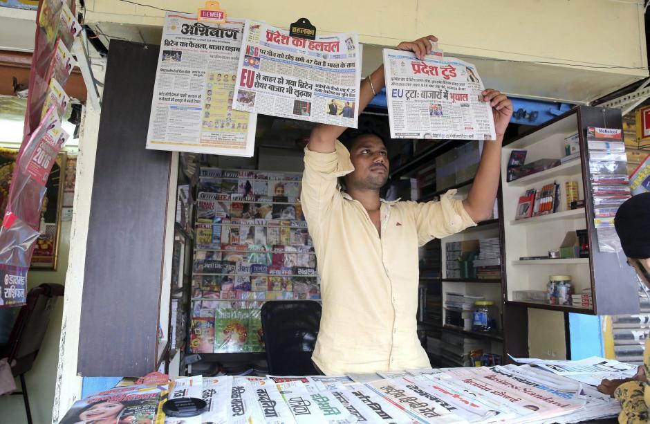 La noticia ha recorrido el mundo principalmente a los países como India, antiguas colonias del Imperio británico. (Foto: EFE)