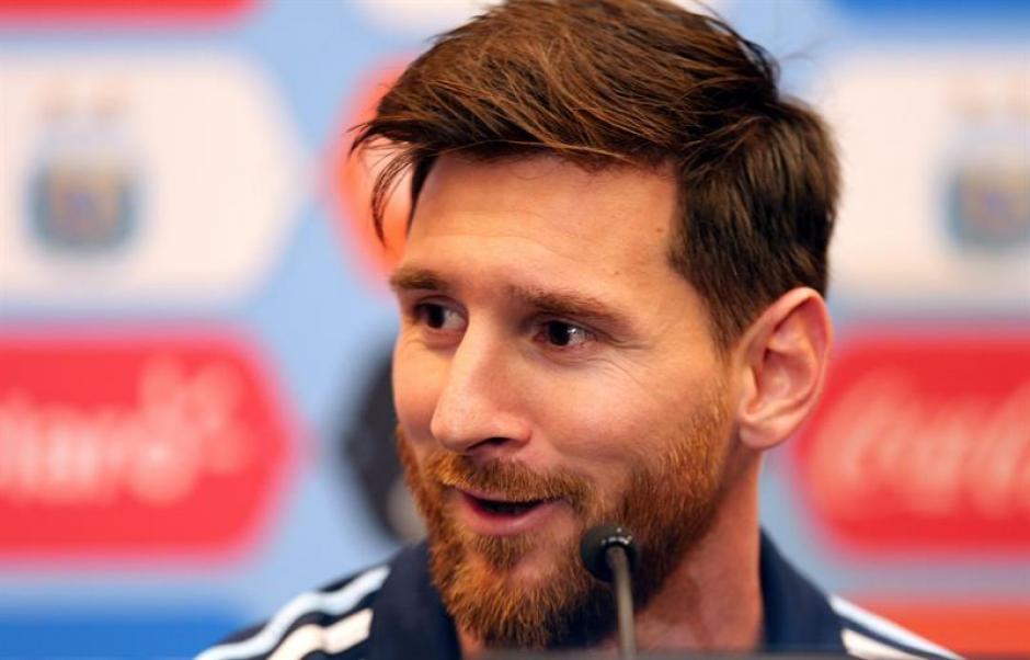Messi se quejó sobre los viajes de la AFA (EFE)