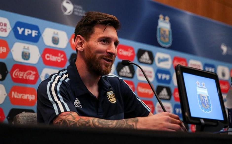 Messi habló el día de su cumpleaños (EFE)