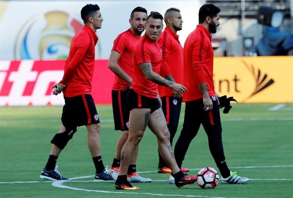 Chile cuenta con Eduardo Vargas, goleador del torneo (EFE)