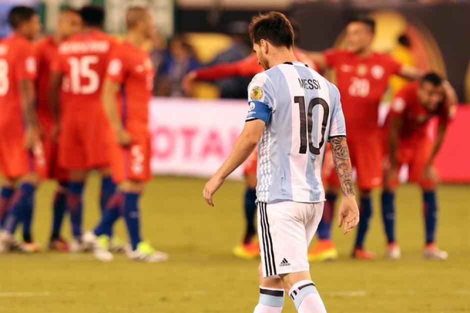 Lio Messi anunció que se retira de la Selección de Argentina.  (Foto: EFE)