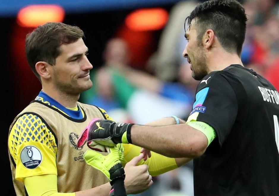 Buffon y Casillas mantienen una gran amistad (EFE)