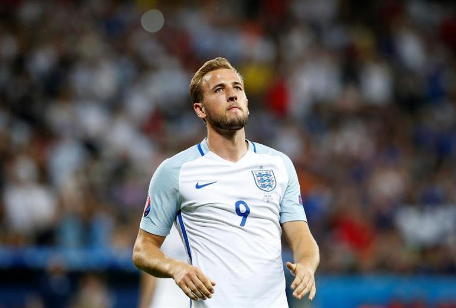 Harry Kane se va de la Euro sin ningún gol. (Foto: EFE)