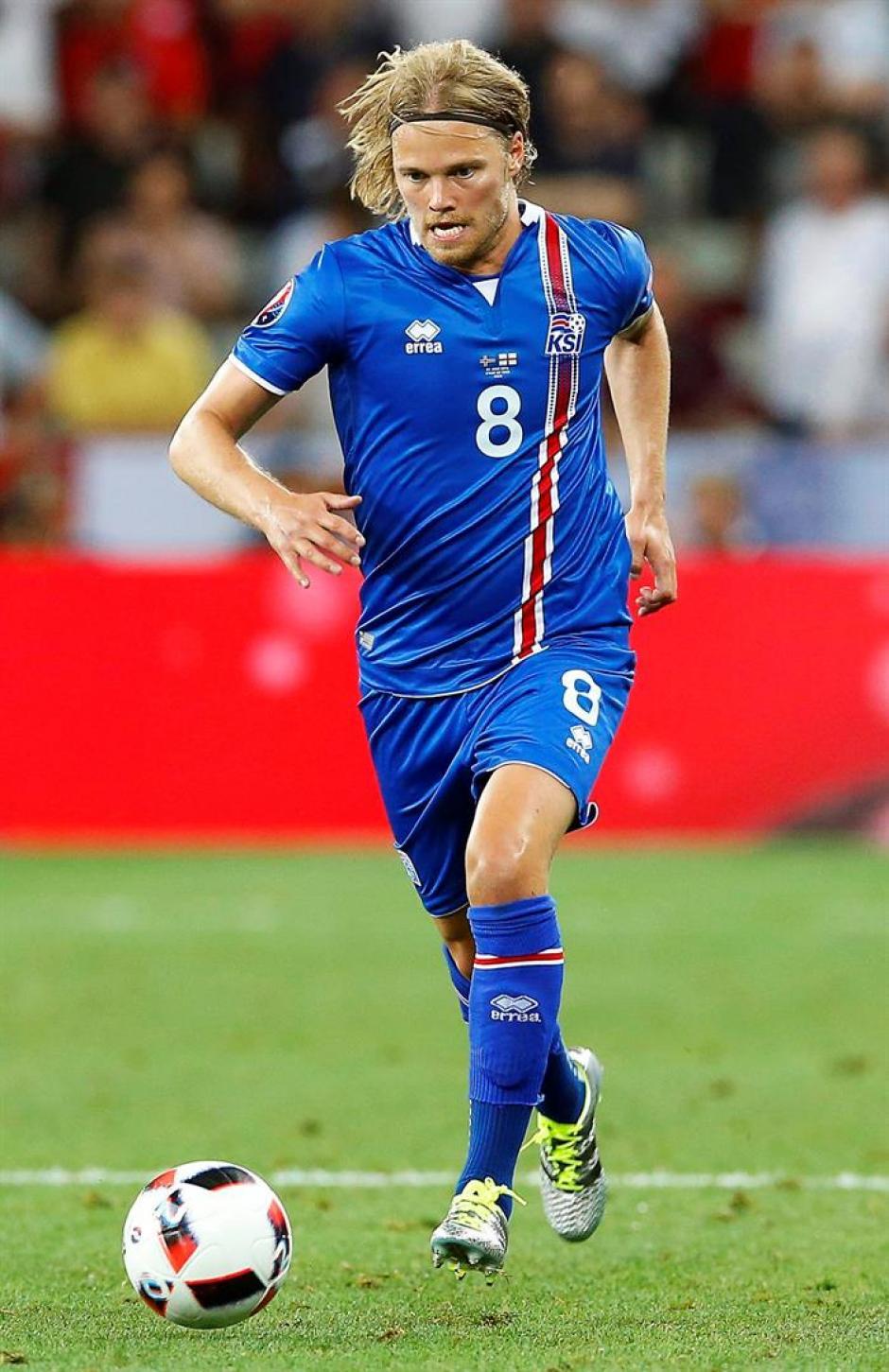 Birkir Bjarnasson, el 'Brad Pitt' del equipo (EFE)