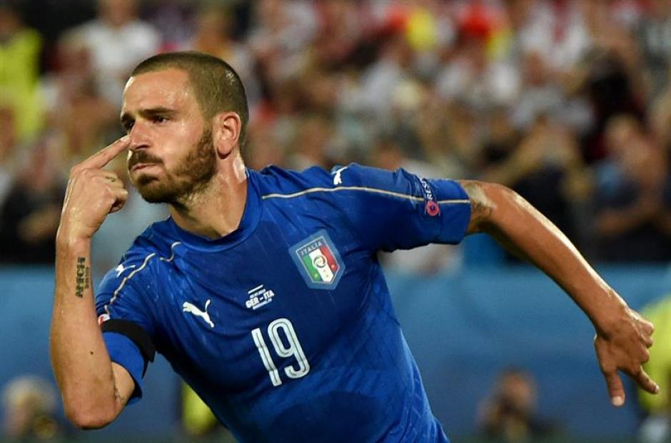 Leonardo Bonucci es el otro gran ausente del equipo. (EFE)