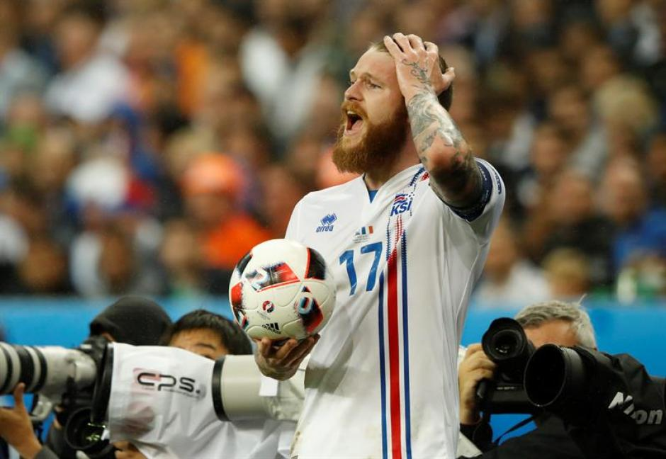 Islandia se va como uno de los grandes equipos del torneo (EFE)