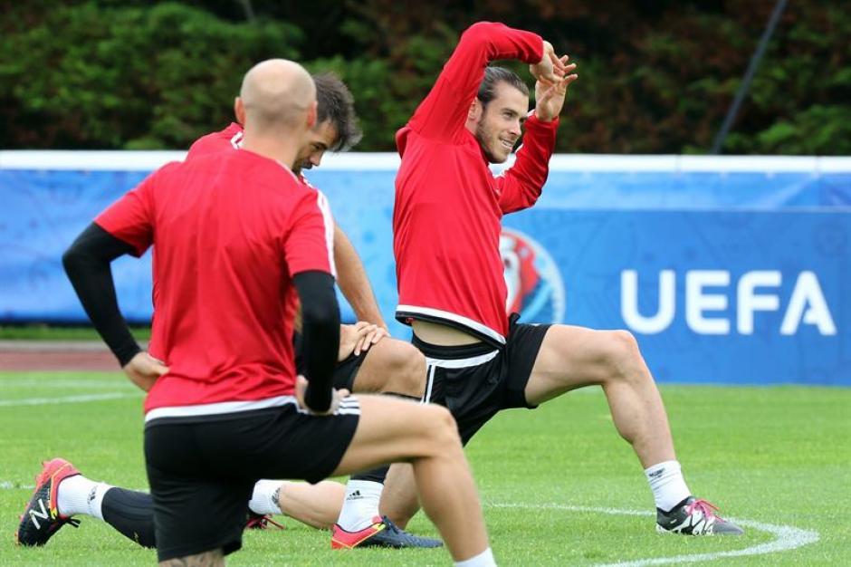 Cristiano y Bale se preparan para su gran duelo (EFE)