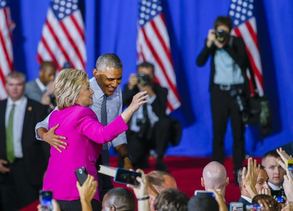 El presidente Barack Obama dijo apoyar a Hillary Clinton. (Foto: EFE)