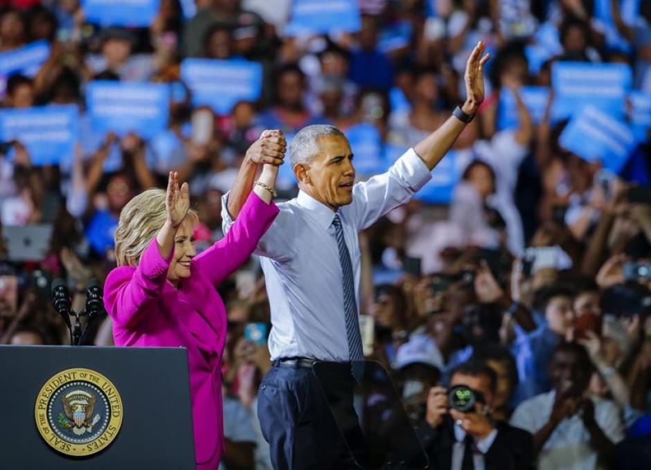 Obama aseguró estar listo para pasar el bastón a Clinton. (Foto: EFE)