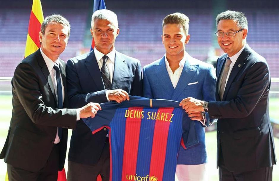 """Suárez sueña con ser el """"sustituto de Iniesta"""". (EFE)"""